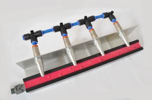 Barra antielectrostática con boquillas de aire DC5-S-AIR-B