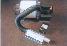 Power air clean system